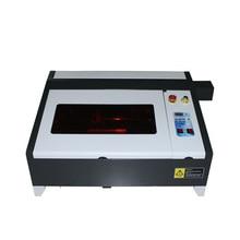 CO2 лазерный гравировальный станок Золотой фрезерный станок Настольный LY лазер 4040 50 Вт Обновление от 3040/4030 PRO 50 Вт для металла