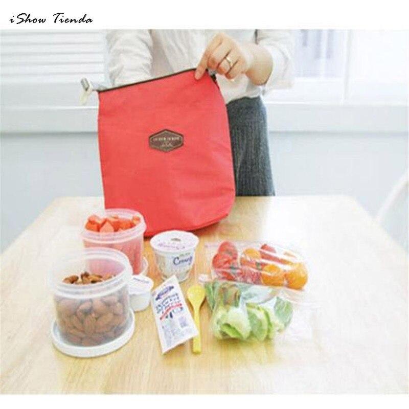 Новый 28 см x 24 см x 9 см Tote Портативный утепленная чехол Cooler Водонепроницаемый Еда сумка для хранения Еда хранения коробка тотализатор мешок о...
