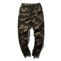 Men Casual Pants New Camouflage Slim Fit Army Camouflage Trousers Pencil Camo Pants Hip Hop Sweatpants