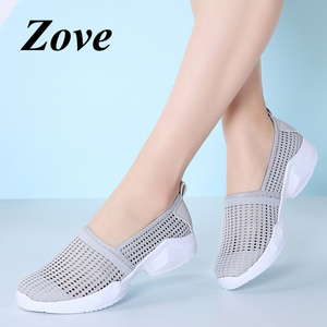 ZOVE Women Flat Loafers Shoes