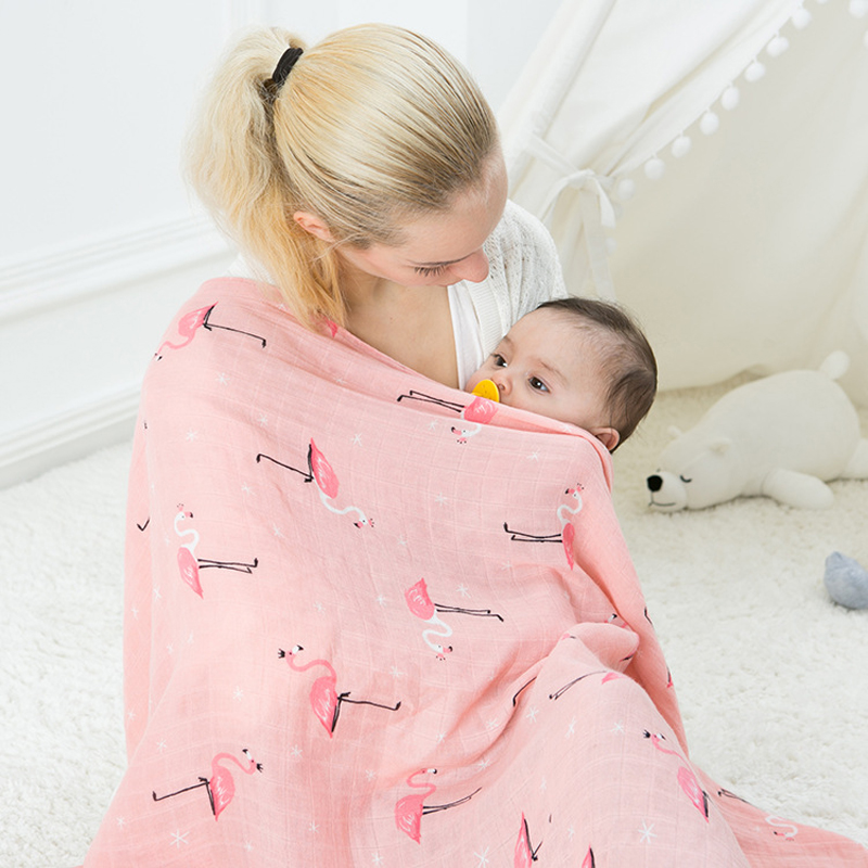 Two Layer Baby Blanket Towels 120x120cm