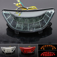 Hot Sale Motorcycle For YAMAHA V MAX 1700 2009 2013 Integrated LED Tail Light Turn signal Blinker Smoke