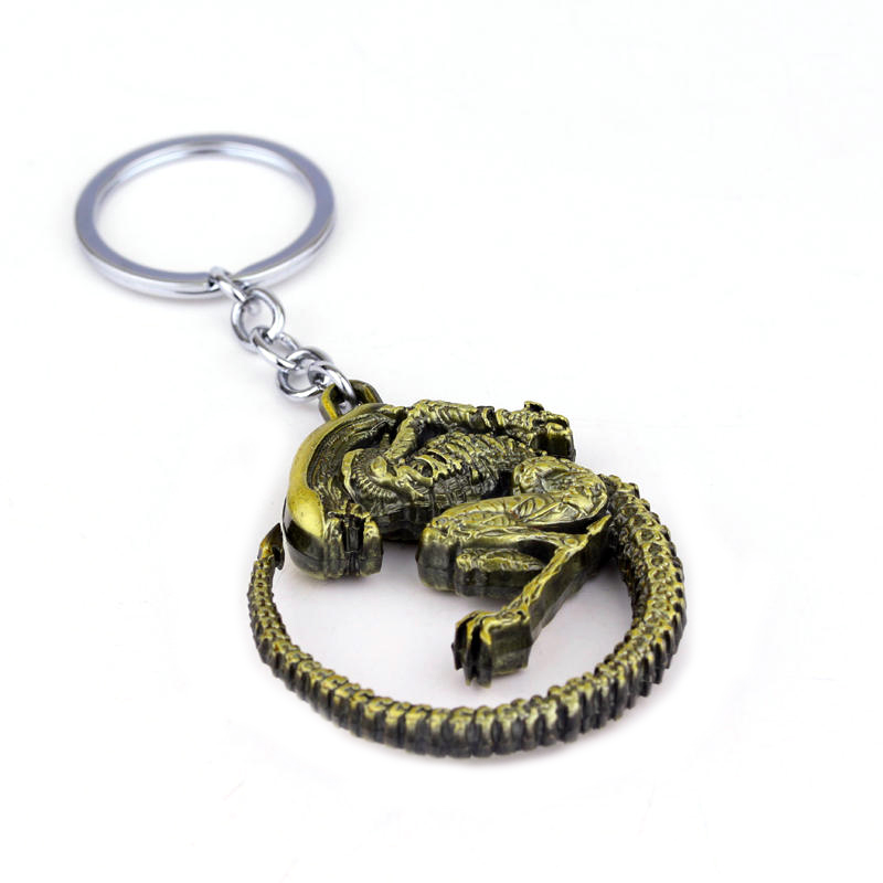 Movie mode Predator Keychain untuk hadiah, Chaveiro keyring, - Perhiasan fashion - Foto 6