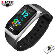 LIGE Smart Bracelet Health Monitor Heart Rate / Blood Pressure Waterproof Pedometer Men and Womens Watches Sports