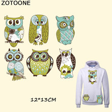 ZOTOONE Various Pretty Owl Iron on Patches for Clothes T-shirt Dresses DIY Accessory Decoration Easy Print By Household Irons E sew pretty t shirt dresses