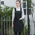 Кухонный Фартук для женщин  для приготовления ногтей  косметичка для супермаркета  Бортпроводник  водонепроницаемые фартуки с логотипом и ...