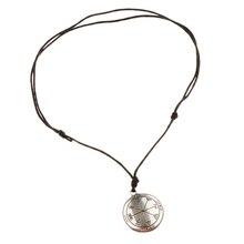 Vintage Sigil of Archangel Talisman Amulet Angel Jewelry Pendant Necklaces Women Medallion Multiple Layers Pendant Long Necklace everette hartsoe sigil cast jennique