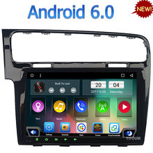 10.1″ Quad-Core Android 6.0 3G 4G WIFI DAB RDS USB Car DVD Multimedia Player Radio For Volkswagen VW Golf 7 GLI MK7 2013-2017