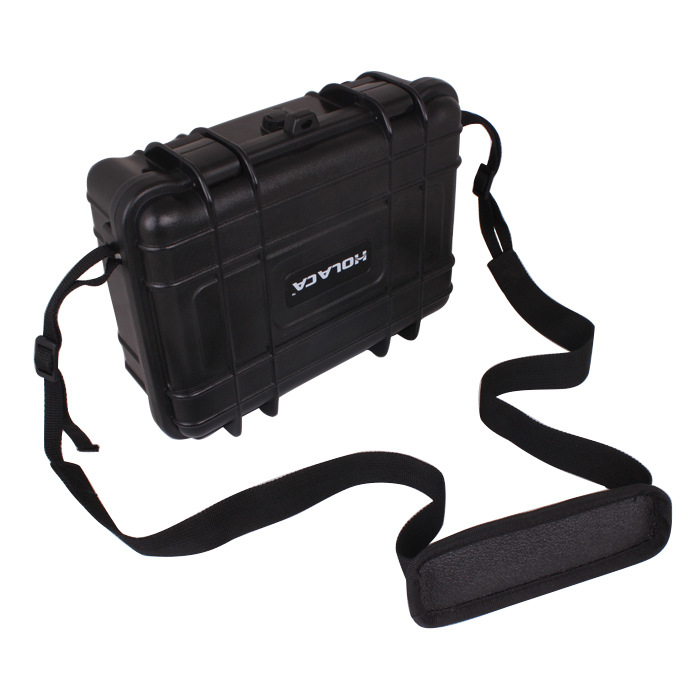 Gopro Accessories Black Medium Plastic Shockproof Protective Storage Carry Case Box Shoulder Bag for Go Pro Hero 4 3+ 3 2 SJCAM аксессуар jawbone big jambox carry case j2011 03 case rp black