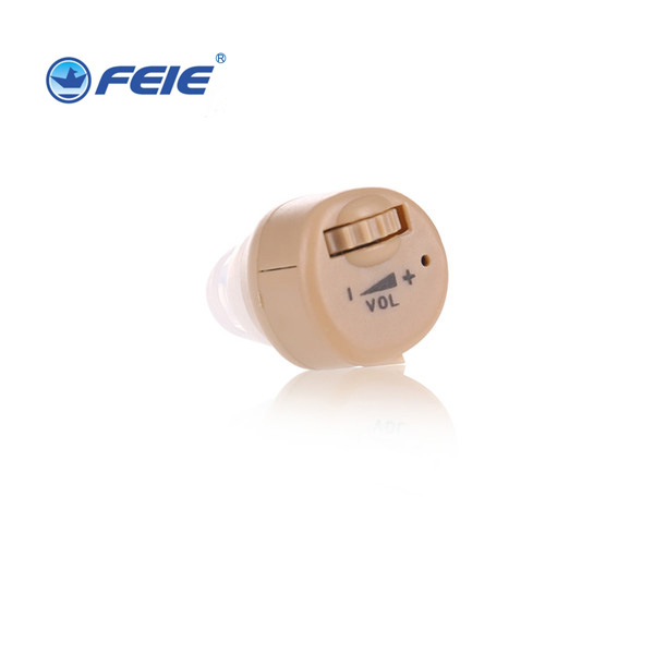 New arrivals small clear sound adjustable tone ear amplifier analog invisible mini Hearing Aids Product S-85