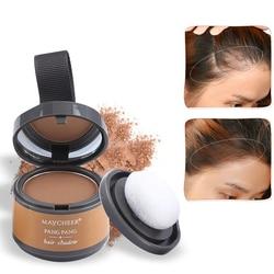 Poudre de cheveux fine duveteuse, effet Pang, maquillage d'ombre pour lignes de cheveux, correcteur de cheveux, couverture grise instantanée, unisexe, offre spéciale