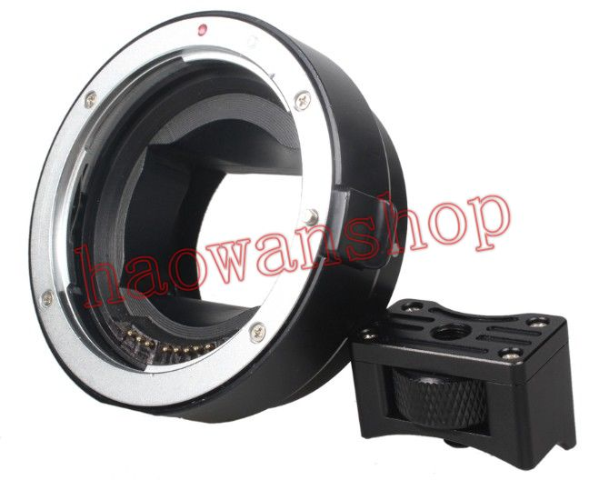 EF-NEX full frame electronic auto focus Lens Adapter Ring for EF EF-S Lens to NEX E Mount A7 A7R af electronic adapter ring ef nex for canon ef bayonet lens transfer to sony nex body support full frame camera a7 a7r white