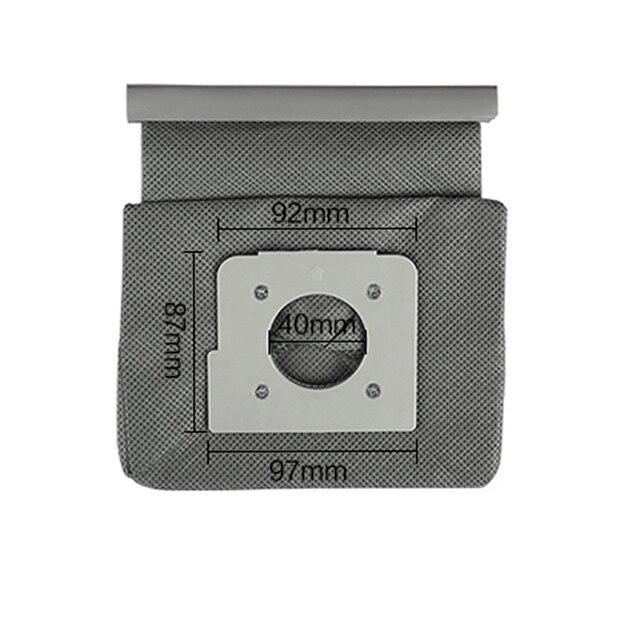 4 * filtro de algodão do motor + 2 * lavável lg sacos aspirador pó saco substituir para lg V-743RH V-2800RH V-2800RB V-2800RY V-2810