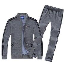Для использования 130 кг мужской спортивный костюм большого размера 6XL 7XL 8XL спортивные комплекты свободная сохраняющая тепло одежда для спортзала мужские беговые костюмы для бега