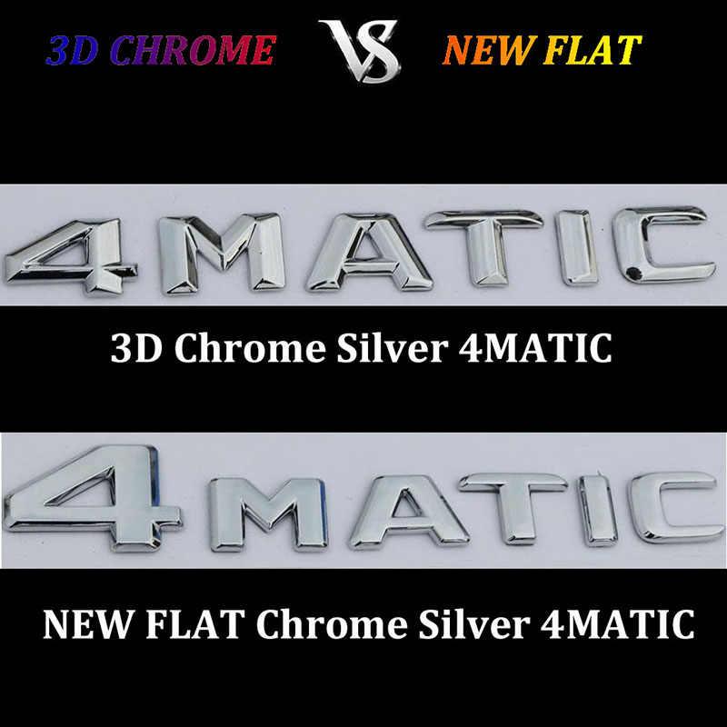3D כרום W221 W222 סמל S63 S350 S500 4MATIC S CLA מכתב אוטומטי רכב מדבקת תג לוגו Emblema עבור mersedes מרצדס בנץ AMG