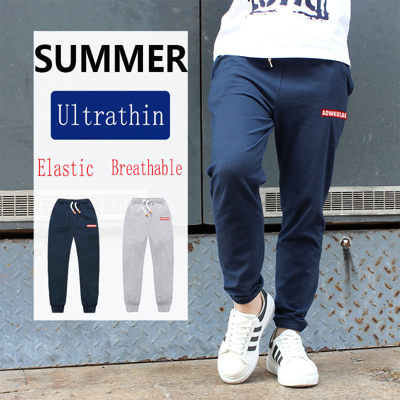 Summer Toddler Boys Kids Clothes Pants for Age 2 3 4 5 6 7 8 9 10 11 12 Year Children Denim Trousers Black Clothing in Pants from Mother Kids