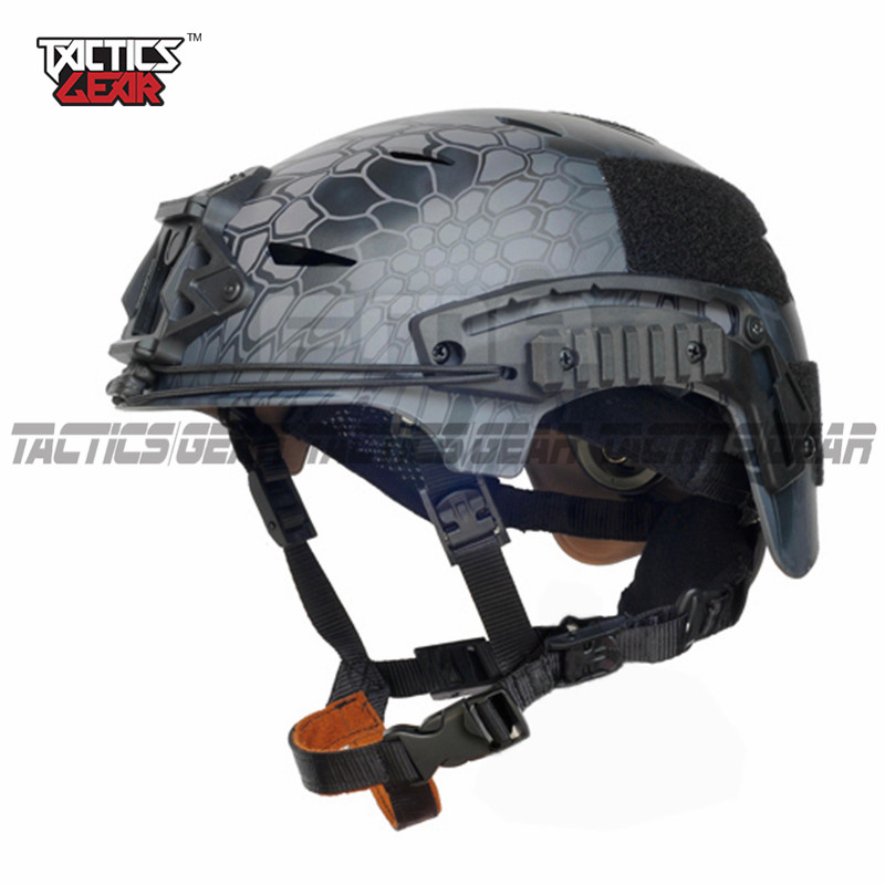 New EXFIL Sports Helmets Tactical protective Base Jump Helmet FAST Military Hunting Helmets Black TYPHON