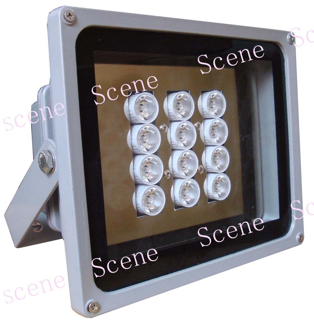 850nm 740nm 940nm High power IR illuminator , Infrared Lamp, invisible IR light with night vision light sources