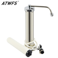 Home Cartridge Ceramic Faucet Tap Faucet Filter Water Ionizer Leading Stainless Steel Water Purifier Water Filter