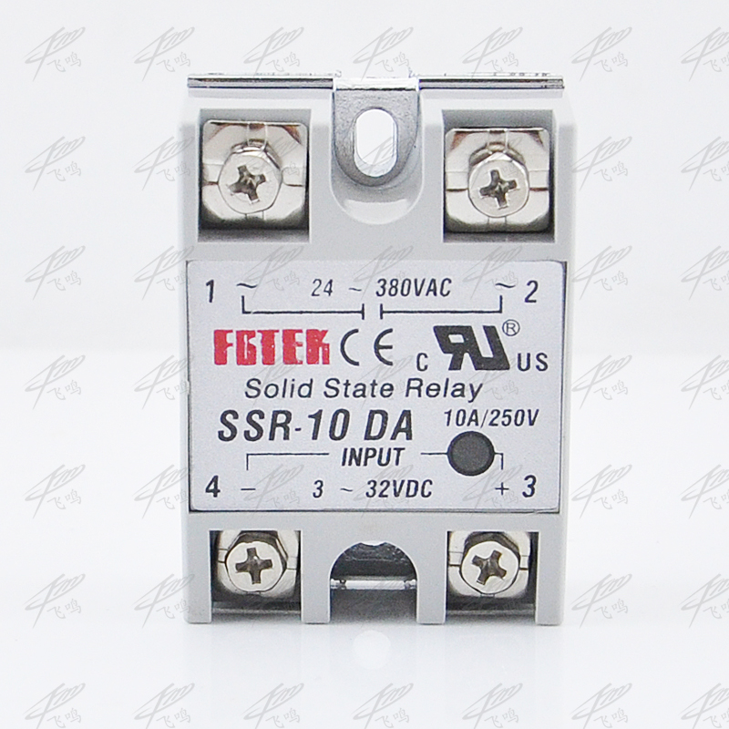 Solid State Relay SSR-10DA DC TO AC 10a SSR-10AA AC TO AC SSR-10DD DC TO DC SSR-10VA relay solid state Resistance Regulator hoymk ssr 60da 60a single phase dc solid state relay control communication relay solid state resistance regulator