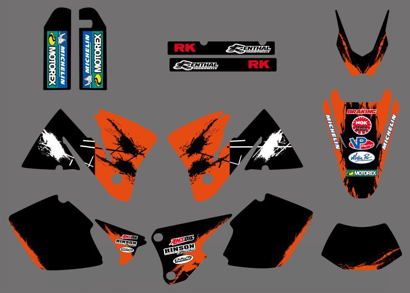 online buy wholesale ktm 520 exc graphics from china ktm 520 exc