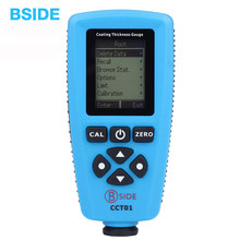 High Accuracy Coating Thickness Gauge Thickness Meter BSIDE CCT01 Car Paint Thickness Tester Russian or English Version(China)