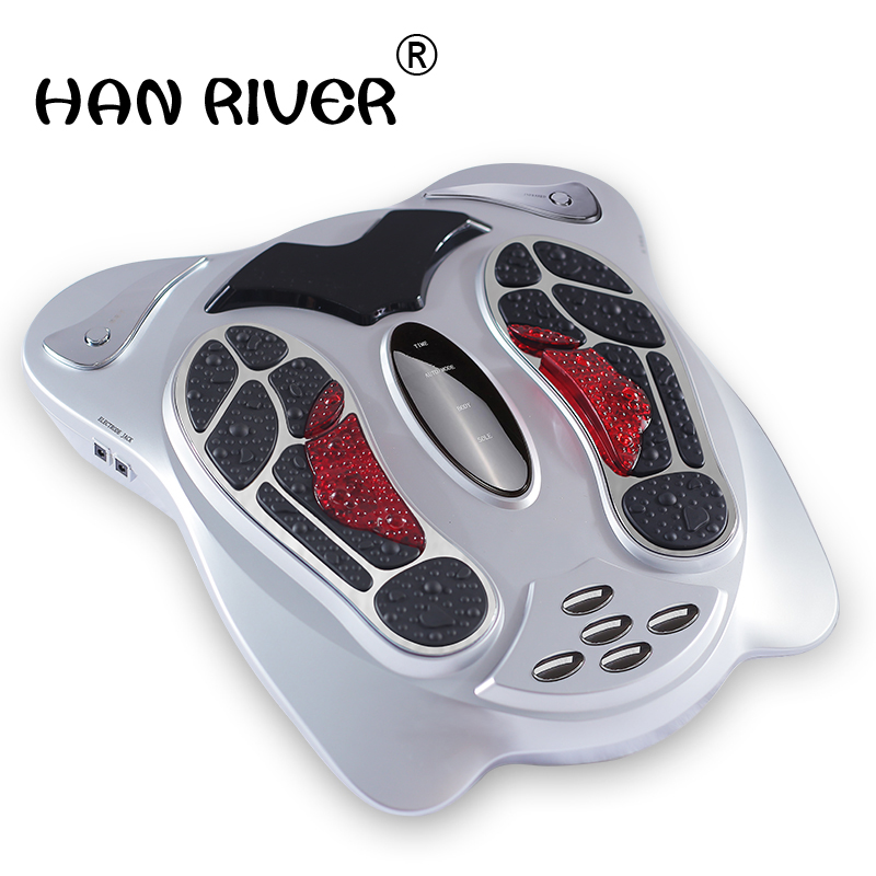 Low frequency electronic pulse massager multi function pedicure machine meridian qi and blood circulation machine