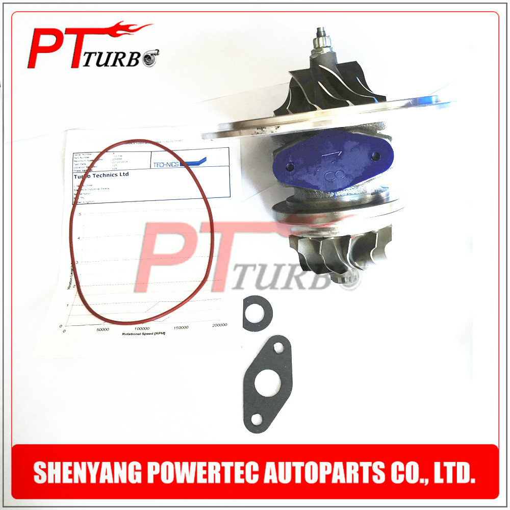 Turbocharger GT2556S turbo core chra cartridge 711736 2674A226 2674A227 turbine for Perkins MASSEY FERGUSON 5455 Tractor 4.4 L new turbocharger 711736 5001s 711736 0001 for 1104 t4 40 engine free shipping