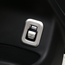 For Mercedes Benz GLC 2016 2017 2018 ABS Matte Car Trunk Switch Decoration cover trim auto accessories styling 1pcs for mercedes benz glc 2016 1pc abs chrome glc260 frame headlight adjustment trim cover moldings car styling accessories