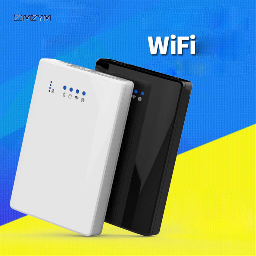 1PC 300Mbps Blueendless 500G 2.5 HDD SSD Hard Disk Wifi Router Sata to USB 3.0 HDD Enclosure with Power Bank function u25awf-1 blueendless n8 11200mah mobile power bank blue