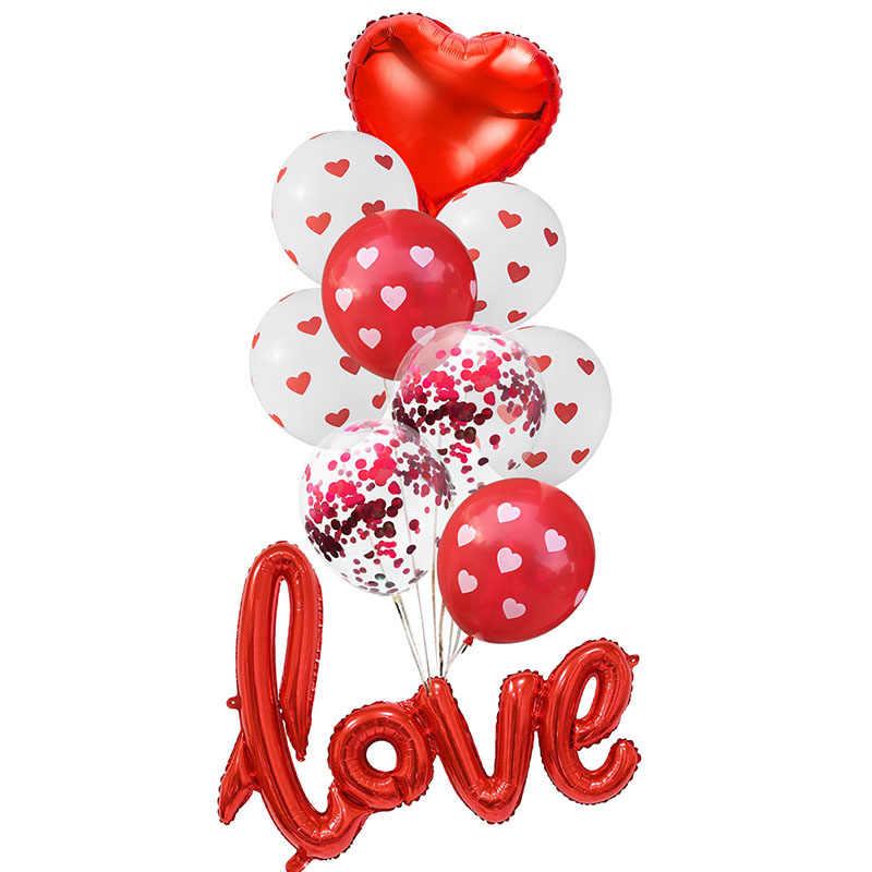 2019 Novos Balões De Látex Festa de Casamento Celebração do Dia Dos Namorados Decoração Grandes Globos Anniversaire Venda Quente