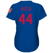 b97f8694359 Game jersey Baseball Women s Chicago Cubs Anthony Rizzo Royal 2018 Spring  Training Cool Base Player Jersey