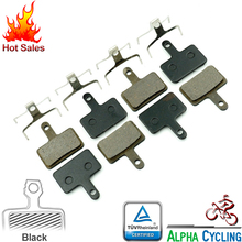 Sports Entertainment - Cycling - 2014 NEW Disc Brake Pads For SHIMANO M447/M375/M395 (4 Pairs, 8PCS) Resin Pads, Tested By EU Standards