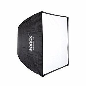 Image 2 - Godox 50x70 سنتيمتر صورة استوديو التصوير مظلة الفوتوغرافي softbox مستطيلة مع بوينس العيار speedlite ستروب استوديو الصور