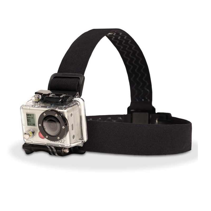 Эластичный регулируемый поводок Крепление на голову с креплением на голову ремень для камеры GoPro HD Hero 1/2/3/4/5/6/7 SJCAM черный действие Камера аксессуары