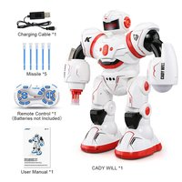 JJRC R3 Programmable Defender Remote Control Early Education Intelligent Robot Multi Funtion Musical Dancing RC Roboat Toy Gift