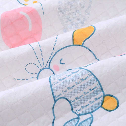 Home Travel Eco-cotton Nappy Changing Bed Cartoon Diaper Mat Baby Waterproof Pad