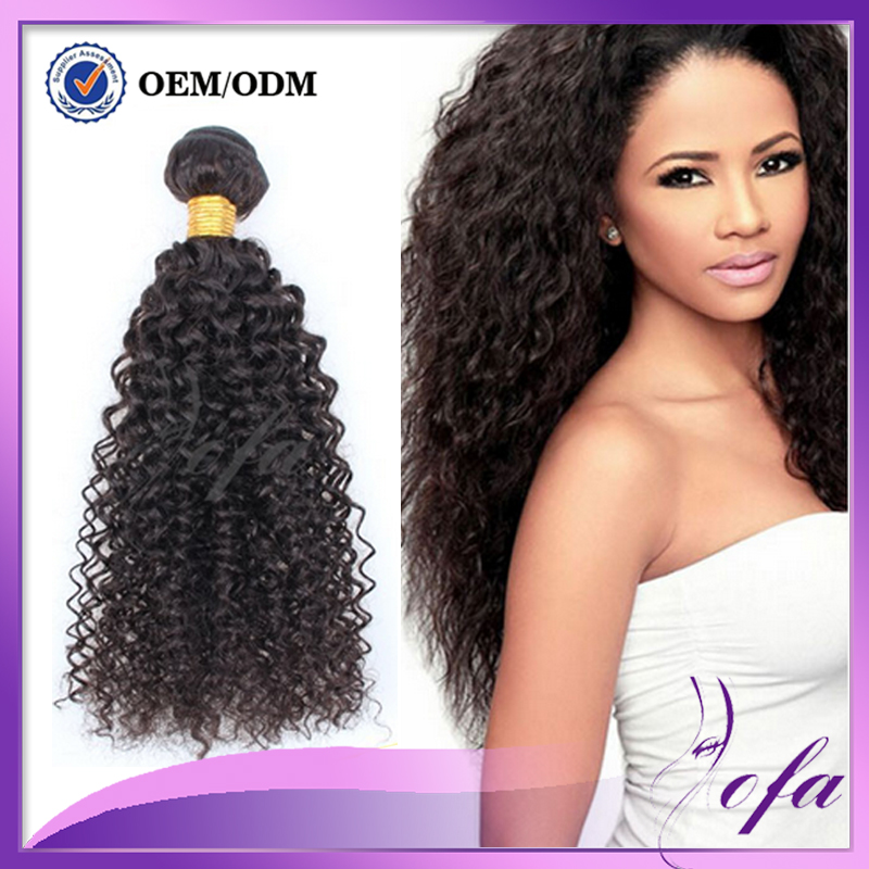 Brazilian Afro Kinky Curly Virgin Hair 4 Bundles 12-30″ unprocessed human hair weave Curly Weave Real Remy Human Hair Extensions