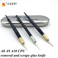Supple Apple motherboard IC chip removal glue shovel blade demolition A8 A9 A10 CPU pry knife layered knife scrape glue knife