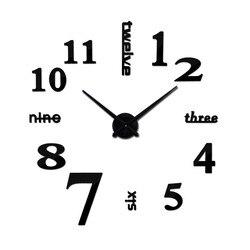 OHO kreatywny DIY lustro akrylowe duży zegar ścienny zegarek kwarcowy martwa natura nowoczesne zegary igły salon naklejki do dekoracji wnętrz