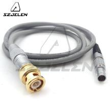 タイムコードケーブル ARRI ALEXA サウンドデバイス、 0B 5pin オスタイムコードケーブル 100 センチ