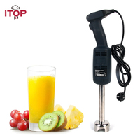 ITOP 200W Commercial Immersion Blender High speed Professional Handheld Blender Food Mixer Agitator 110V 220V 240V Single Speed