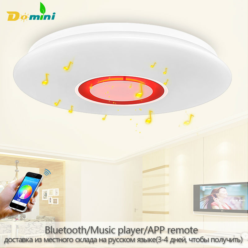 ФОТО APP LED Ceiling Lamps Bluetooth Music colorfull Ceiling Light luminaria Led Remote Control with bluetooth Lamp Lamparas De Techo