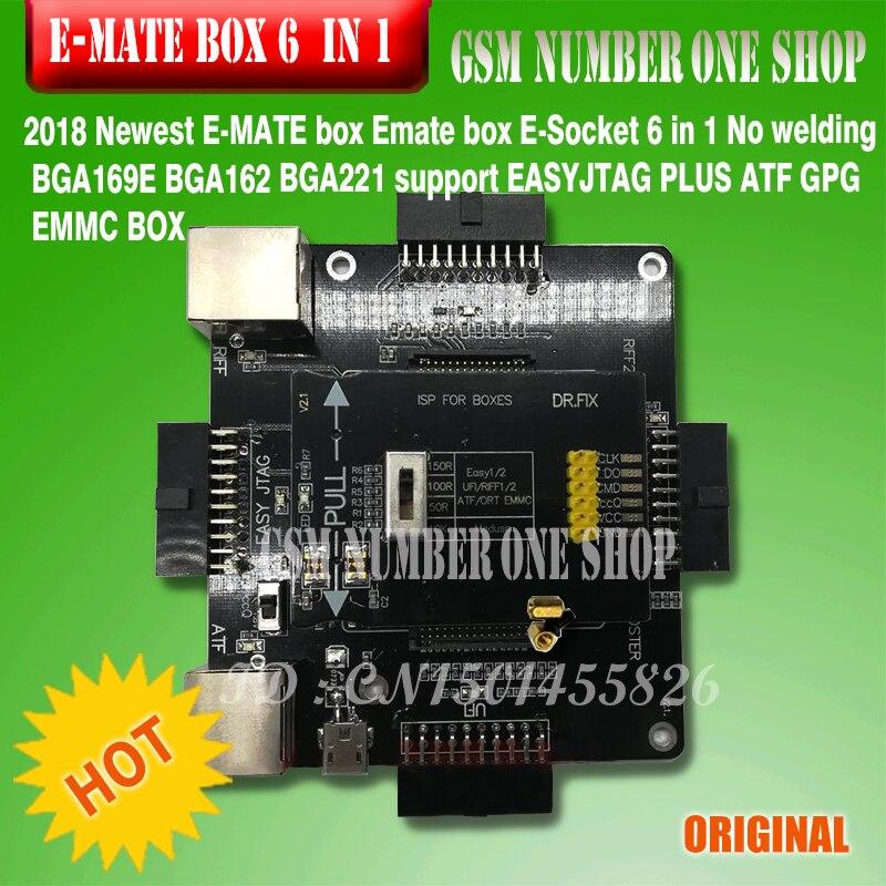 E-MATE box Emate box E-Socket 6 en 1 Sin soldadura BGA169E BGA162 - Equipos de comunicación - foto 4