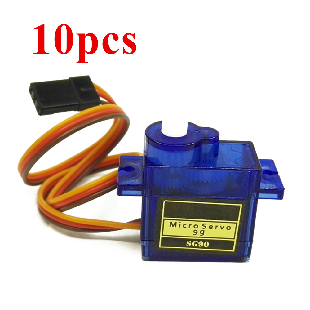 10pcs 5pcs SG90 Micro 9g Servo For RC Helicopter