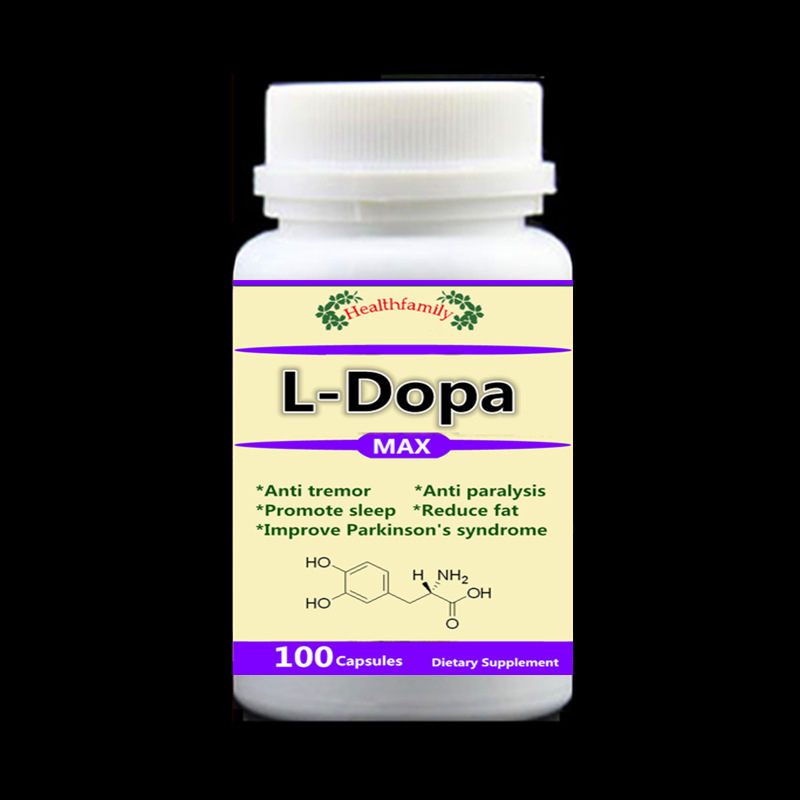 L-Dopa/Dopamine,Mucuna Pruriens Extract, Anti tremor and paralysis,Improves Parkinson's Syndrome and longevity- 100pcs/bottle metabolic syndrome and alternative medicine