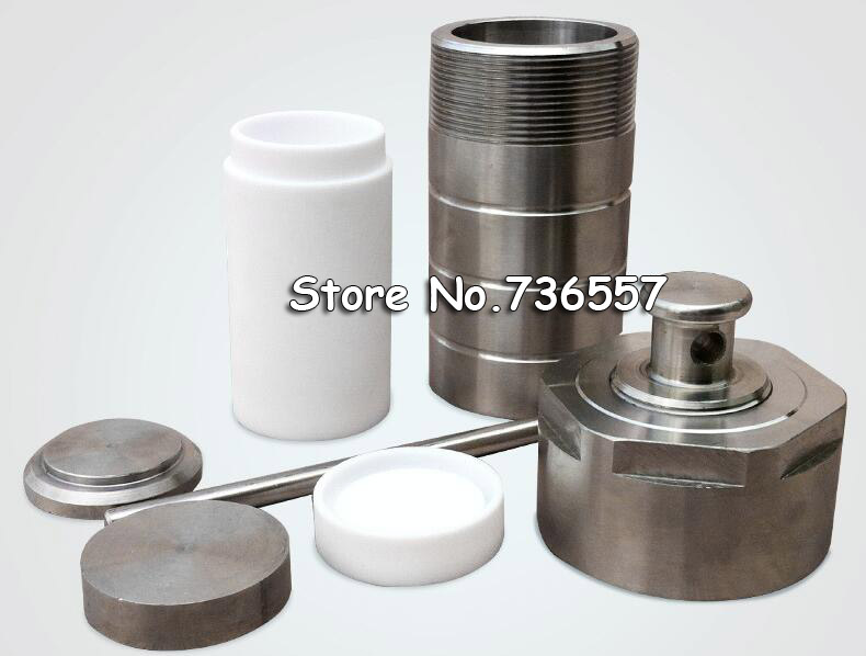50ml Autoclave Teflon, Hydrothermal Reactor 50ml PTFE Lined Synthesis Autoclave Reactor, High Pressure Digestion Tank srosin 50ml