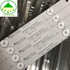 Image 2 - 60 PCS/lot 100%NEW good quality LCD TV backlight bar FOR 400S8606X8 A0035 E34036 40S 4 10 1.00.1.388015S01R V1 94V O DY 01 14 or