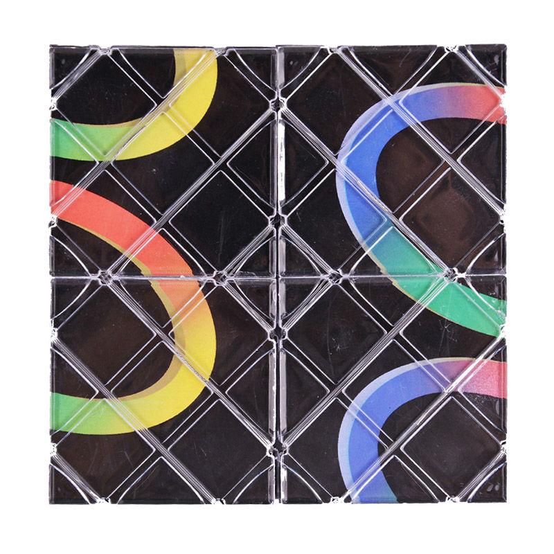 LeadingStar Lingao 8 Paneles Puzzle Cubo Mágico Puzzle Plegable - Juegos y rompecabezas - foto 6
