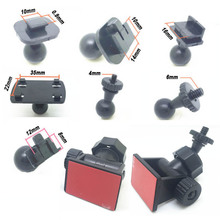 7 Types Ball Interface Choose Car Mount for Camera Holder DV